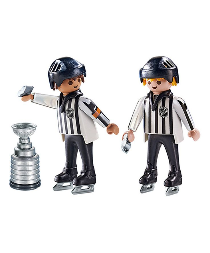 Look at this #zulilyfind! PLAYMOBIL NHL® Referees & Stanley Cup® Set by PLAYMOBIL #zulilyfinds