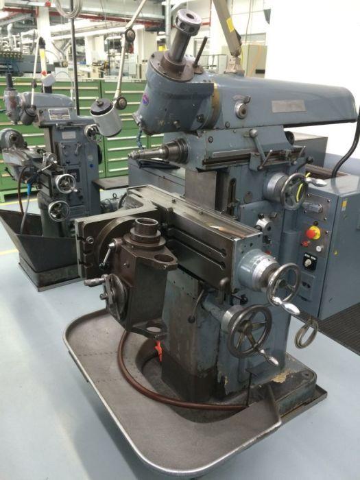 THIEL DUPLEX 158 Universal Fräs- Und Bohrmaschine