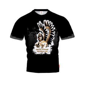 POLSKA HUSSAR SHIELD Koszulka T-Shirt Patriotyczny