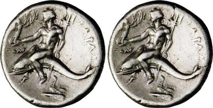 NumisBids: Numismatica Varesi s.a.s. Auction 65, Lot 2 : CALABRIA - TARENTUM - Periodo di Pirro (302-281 a.C.) Nomos. D/...
