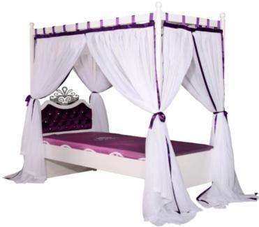 kinder himmelbett 90x200 kinderbett nicht gebraucht in nordrhein westfalen troisdorf ebay. Black Bedroom Furniture Sets. Home Design Ideas