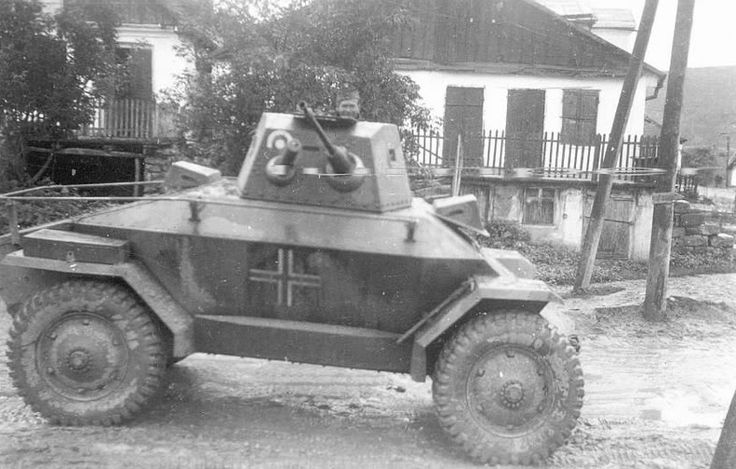 Hungarian Csaba armored car