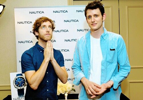 Thomas Middleditch and Zach Woods | Silicon Valley