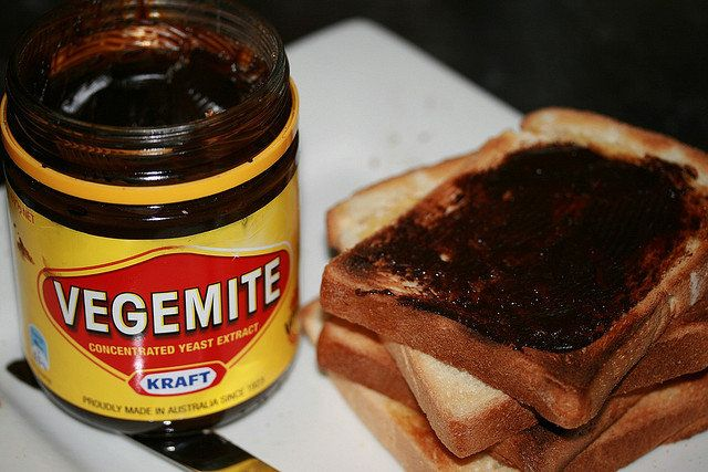 Odd Australian foods.