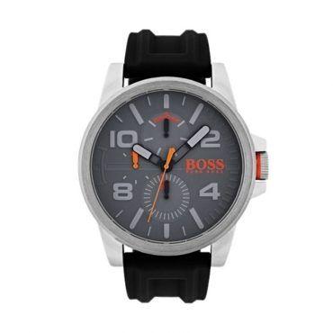1550007 HUGO BOSS ORANGE Detroit | Ανδρικό ρολόι BOSS ORANGE με γκρι καντράν & λουρί από σιλικόνη | HUGO BOSS ρολόγια ΤΣΑΛΔΑΡΗΣ στο Χαλάνδρι #Boss #Detroit #λουρι #σιλικονη #ανδρικο #ρολοι