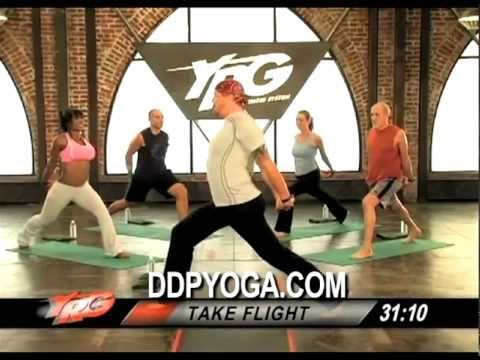 DDPYOGA demo STRENGTH BUILDER workout - YouTube