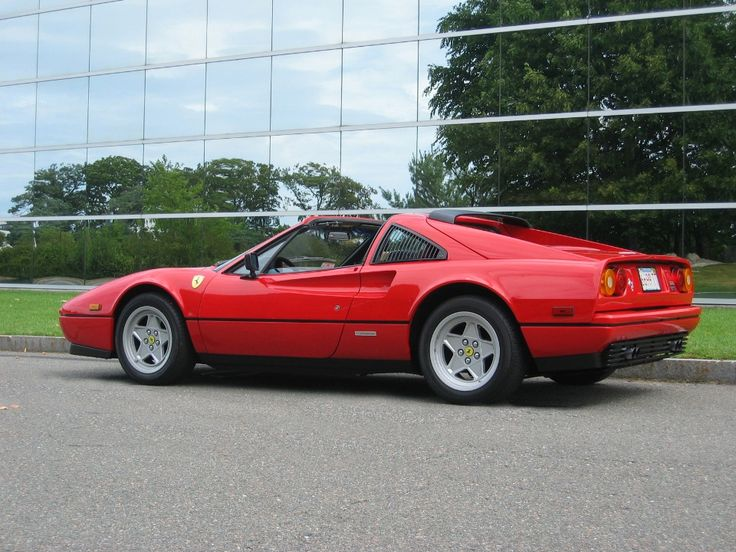 Ferrari 328 GTS wouldn't this be fun to drive on the Autobahn?