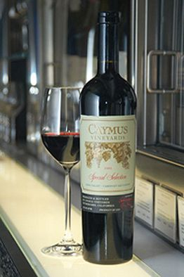 Caymus Cabernet Sauvignon ....my love!