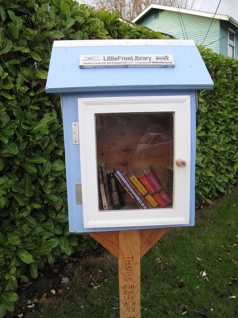 Little Free Library, Tacoma, WA