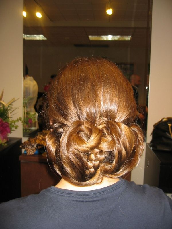 Hair In A Fancy Bun