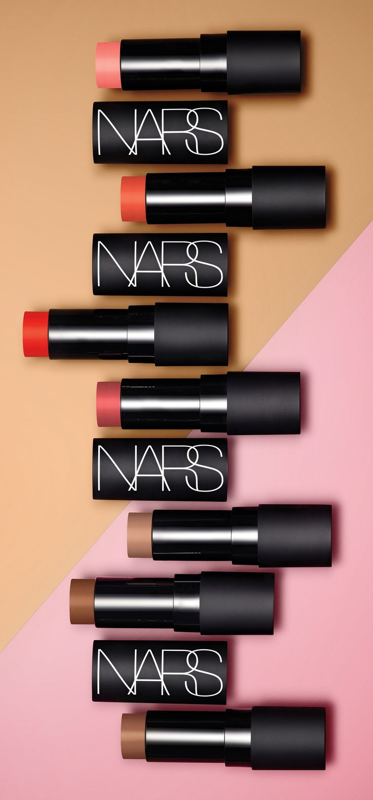 Vibrant pops of sun-kissed colour for lips and cheeks