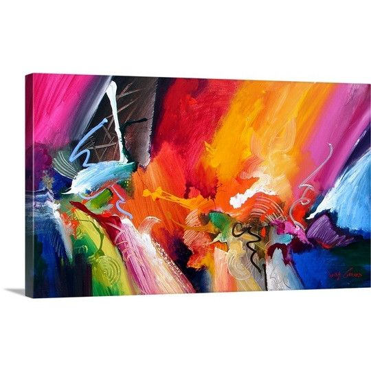 """Great Big Canvas """"Unbounded Ecstasy"""" by Jonas Gerard Graphic Art on Canvas & Reviews 