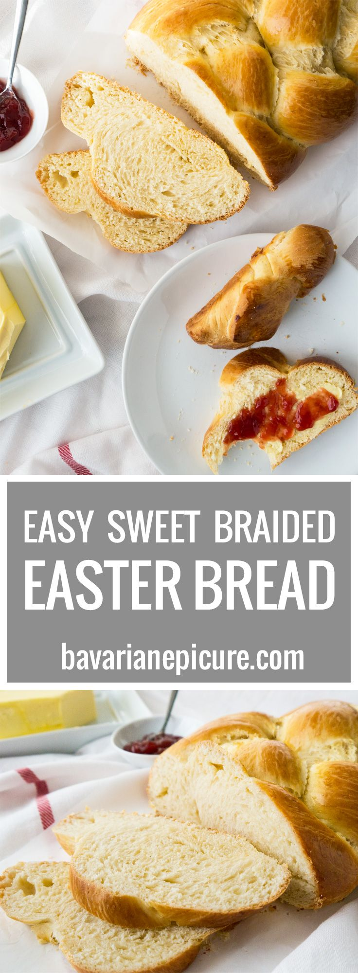 Easy Sweet Braided Easter Bread | Recipe | Butter ...