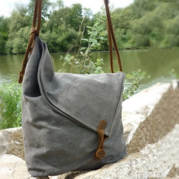 Women Canvas Shoulder Bag – Buykud