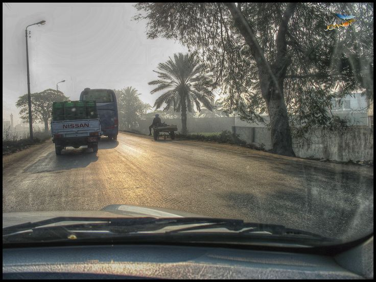 https://flic.kr/p/21WSuMS | 7002 - The Road III | Giza, Cairo, Egypt