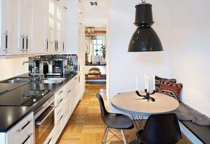 Круглый обеденный стол для кухни | PostRemont