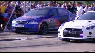 Nissan GTR VS Skoda Octavia RS   https://www.youtube.com/watch?v=ITcG6drLCZU