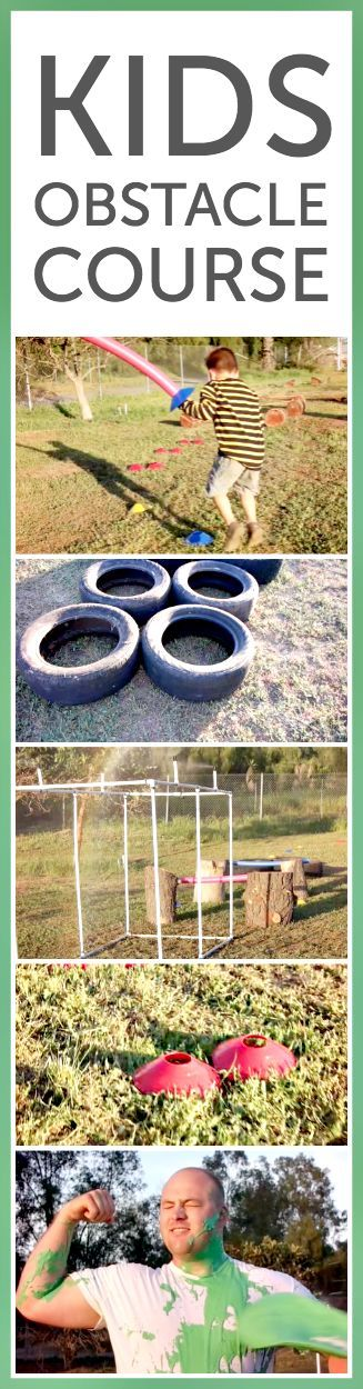 Kids Obstacle Course ~ We worked with Nickelodeon to create a #ReadySetSlime kids obstacle course