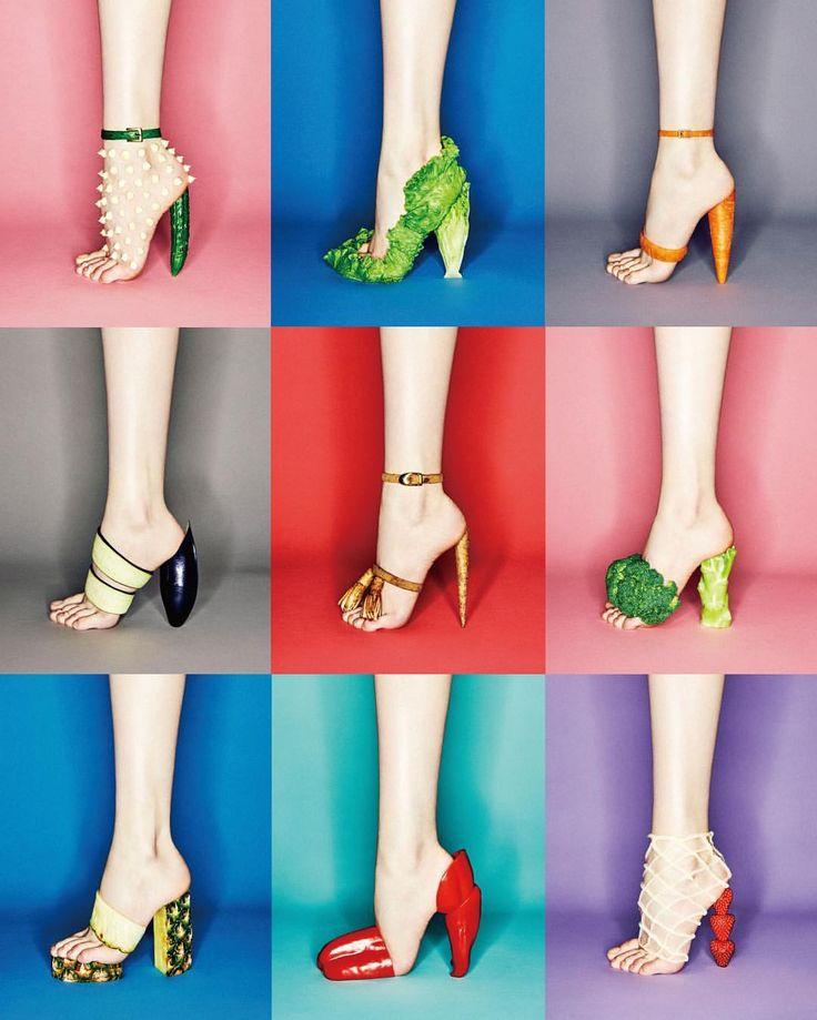 いいね!6,892件、コメント43件 ― 吉田ユニさん(@yuni_yoshida)のInstagramアカウント: 「GINZA magazine 7月号 #中面もいろいろあるよ #野菜 #くだもの #shoes #こぼうのタッセル #皮と革 #ginza #ginzamagazine #マヨネーズのスタッズ…」