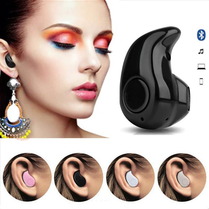 Mini Wireless in-ear Earpiece Bluetooth Earphone Cordless Headphone Blutooth Stereo Earbuds in ear Headset For Phone iPhone 7 6