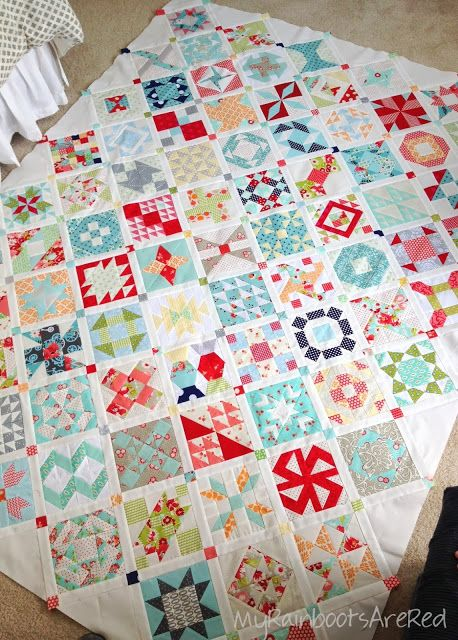 Farmer's Wife Quilt. I may have enough scraps to get started. Now I need the pattern. It's on my wish list: