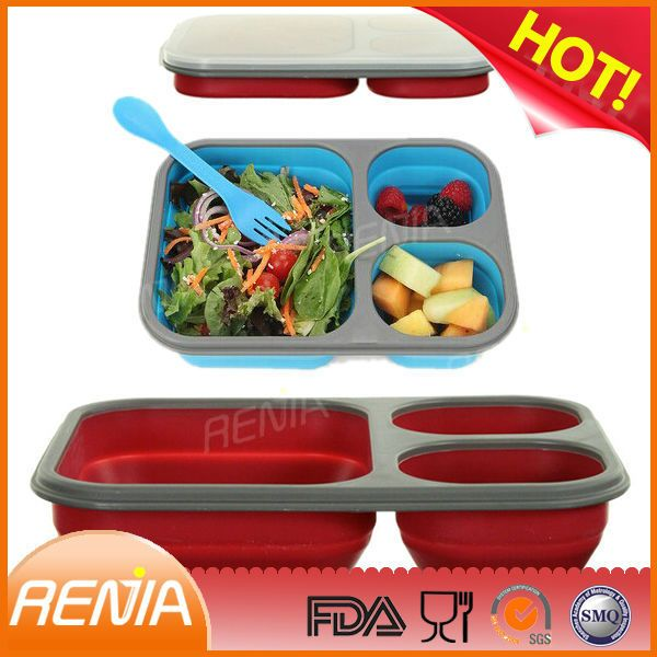 Check out this product on Alibaba.com App:RENJIA kitchenware collapsible silicone lunch box,hot selling customized lunch box,industrial lunch box https://m.alibaba.com/VveIVn