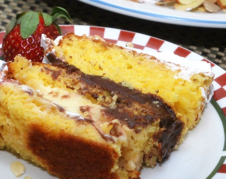 Recipe For Italian Sponge Cake With Rum