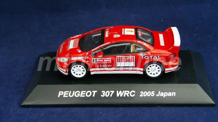 CM S RALLY CAR COLLECTION | JAPAN | PEUGEOT 307 WRC 2005 | 1/64 | CARLSSON
