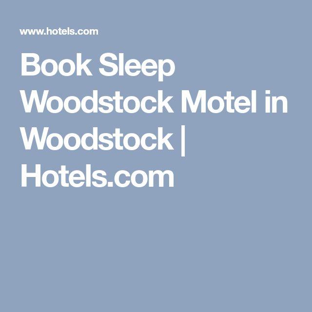 Book Sleep Woodstock Motel in Woodstock   Hotels.com