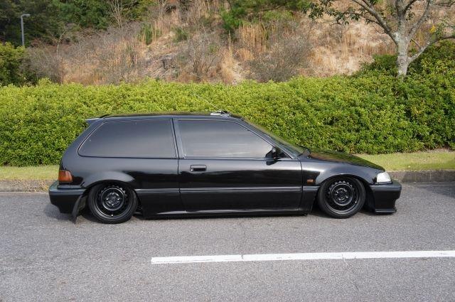 Honda Civic EF | Lowered, Slammed, JDM