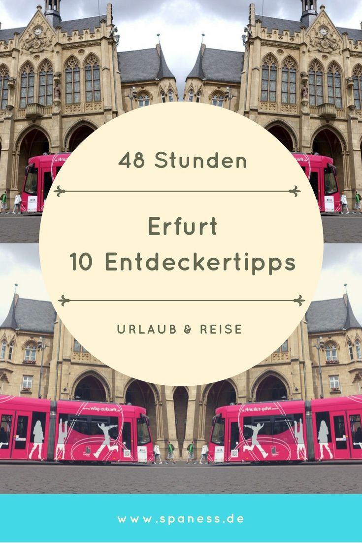 Geschenk Idee Erfurt Reise - 10 Tipps für einen Citytrip nach Erfurt.