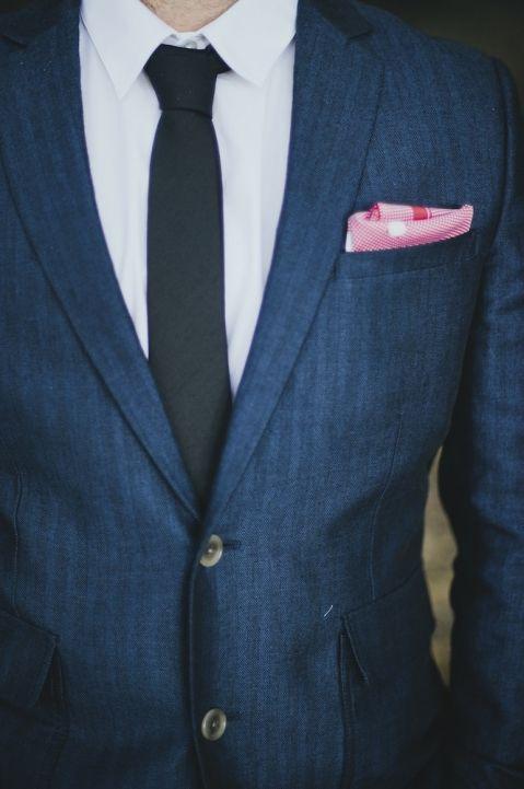 nice suit lines - maybe in dark grey?