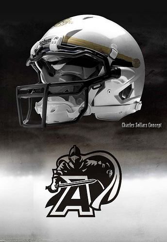 Army Football Helmet