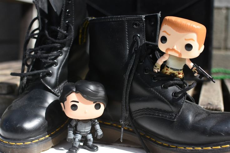 "https://flic.kr/p/QnXTeX | The walking Dead Pop Vinyl Figure | Day 16 of my #FunkoPopPhotoADay Challenge ""shoes"". TWD Glenn and Abraham recently got the 'boot' from the show in the most spectacular deaths yet!"