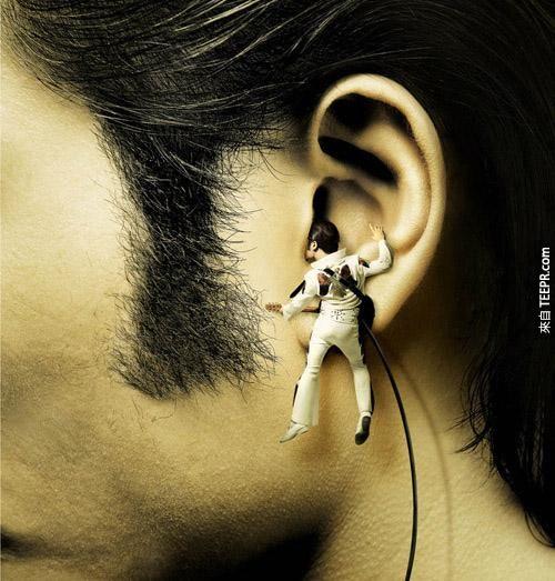 三星(Samsung) MP3 隨身聽(貓王真的就在你耳朵啊!)