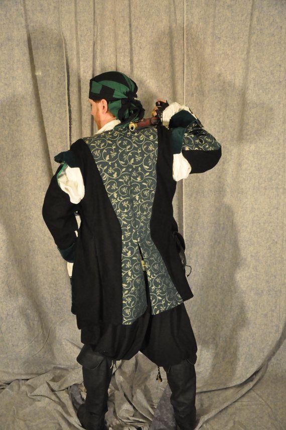 Renaissance Pirate Costume Cosplay Coat by OpenPandorasCloset