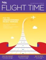 Des talks all things restaurants in Flight Time magazine, October 2014