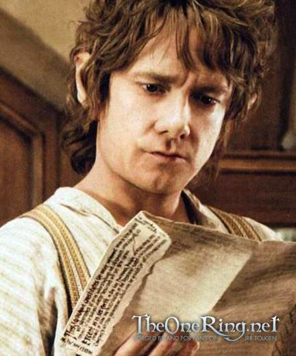 Martin as Bilbo.