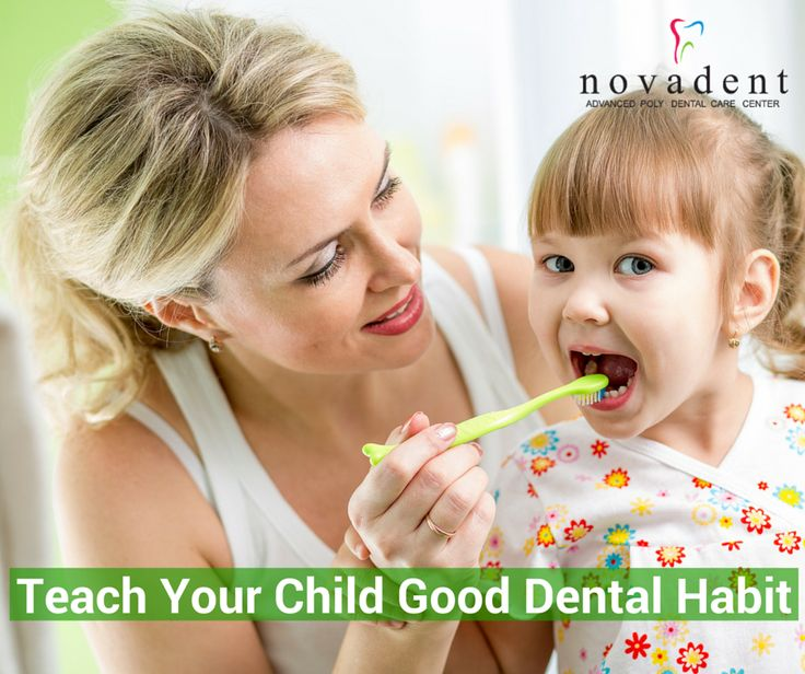 Teach Your Child to Develop Good Dental Care Habits As a parent , it is essential to ensure that their teeth and gum remain healthy by teach them to develop good dental care habits such as #Brushing, #Flossing,.etc. http://www.novadenttly.com/