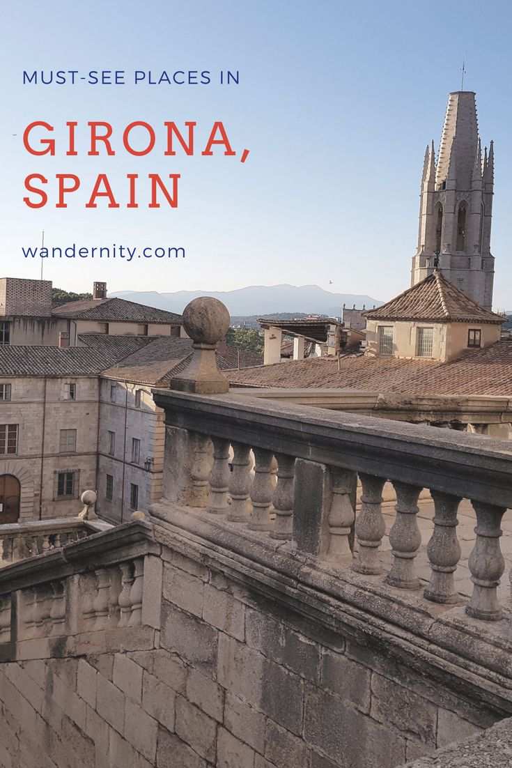 Girona has a marvelous old town that has been featured in the Game of Thrones show. The itinerary suggests must-see places and offers a map for a walk.