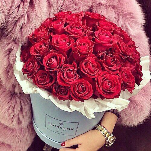 bouquet de fleurs instagram