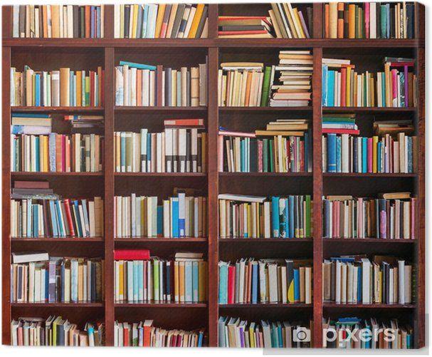 boekenkast boeken vol poster pixers bookshelf leveranciers visualisatie