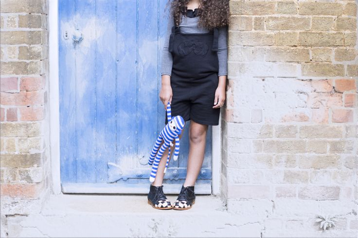 Checkerboard boots featured in Little Flea Christmas Special.