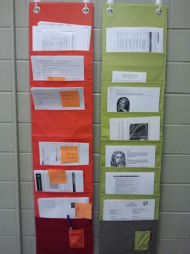 Keeping Up with handouts for interactive notebooks - something to consider