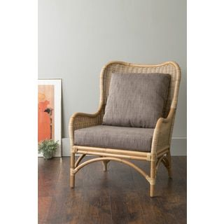 Shop for East At Main's Lyndon Brown Square Rattan Accent Chair. Get free shipping at Overstock.com - Your Online Furniture Outlet Store! Get 5% in rewards with Club O!
