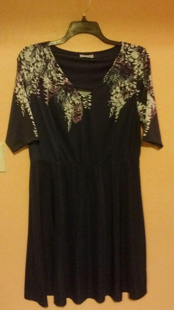SPRUCE & SAGE Women's Dress Size 2X #Sprucesage #Sheath #Anytime