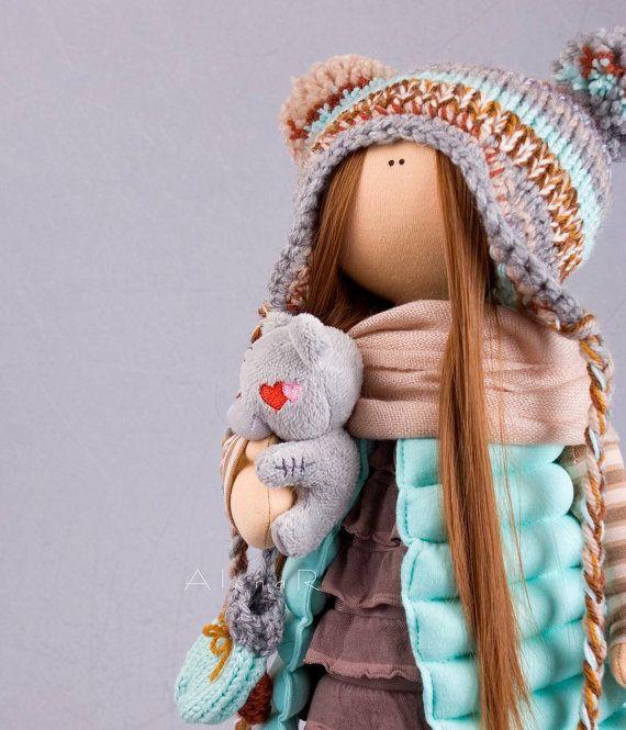 Tilda doll Collectable doll Fabric doll Handmade doll Cloth