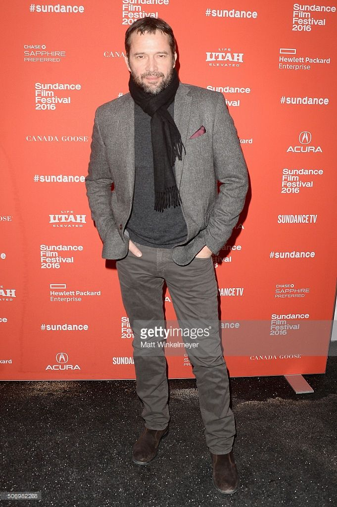 Actor James Purefoy attends the 'Equity' Premiere during the 2016 Sundance Film Festival at Library Center Theater on January 26, 2016 in Park City, Utah.