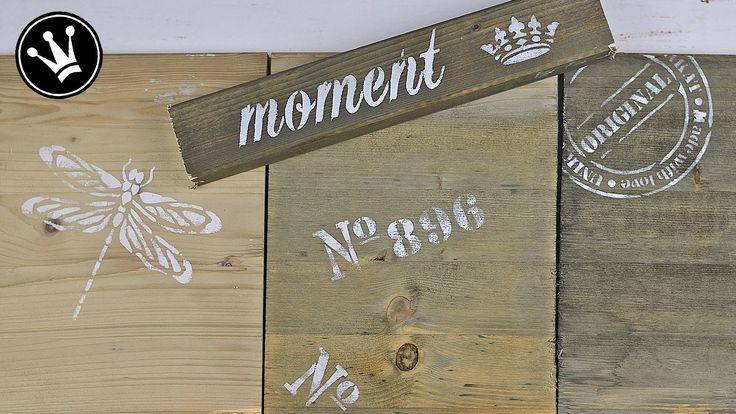 How to: Holz mit Kaffee, Essigessenz und Stahlwolle verwittern/altern lassen / Treibholz - YouTube