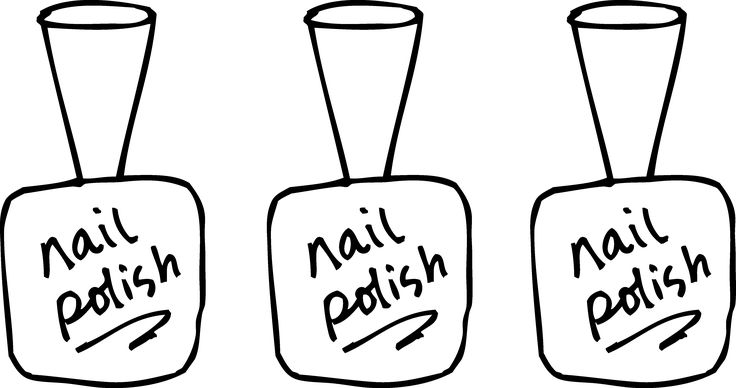 images for gt nail salon clipart black and white morgan